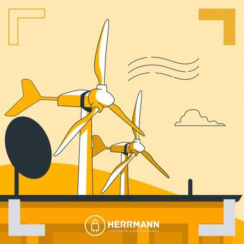 Solarenergie mit Photovoltaikanlagen, Stromspeicherung & Kleinwindkraftanlagen