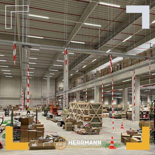 Vorbereitung & Installation der Stromversorgung und Ladepunkte für Lagerroboter in Bremen