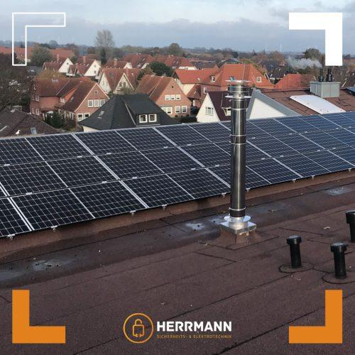Photovoltaik-Anlage für ein Mehrfamilienhaus auf Fehmarn